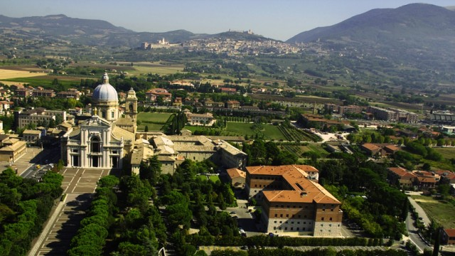 Hotel Domus Pacis Assisi Panorama
